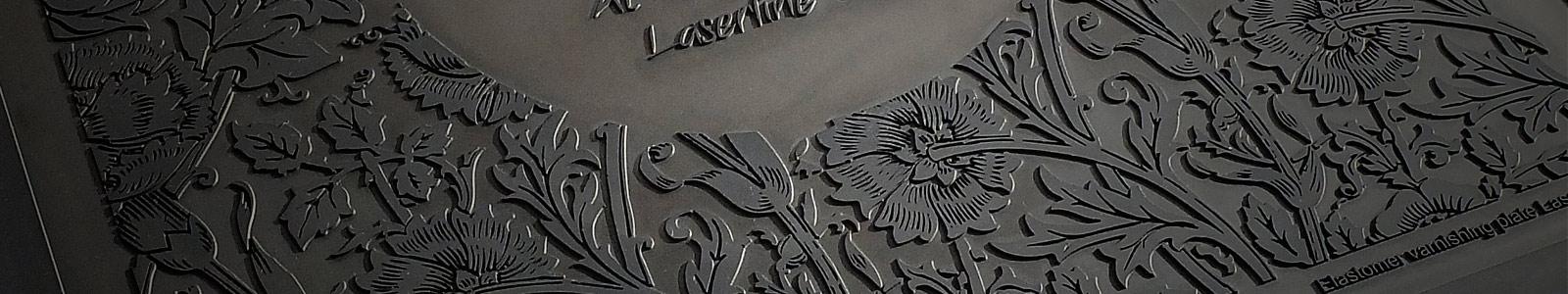 laser engraved varnishing plate laserline csl
