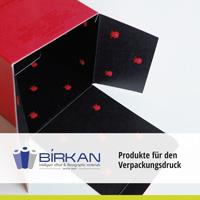 Softtouch-Lack von hubergroup und Laserline CSL für das Deckblatt