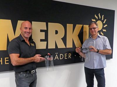Georg Merkl und Mathias Klein