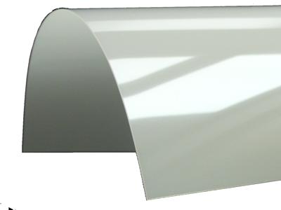 sample of white-transparent foil Folabase Soft U